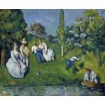 El estanque, Cezanne, Algomasquearte