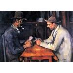 Jugadores de cartas, Cezanne, Algomasquearte