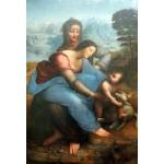 La virgen y el niño con Santa Ana, Da Vinci, Algomasquearte