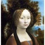 Ginevra de Benci, Da Vinci, Algomasquearte