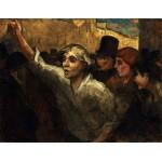 La sublevación, Daumier, Algomasquearte