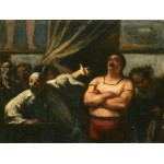 El forzudo, Daumier, Algomasquearte
