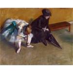 Esperando, Degas, Algomasquearte