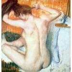 El aseo, Degas, Algomasquearte