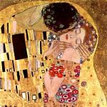 El Beso, Detalle1, Klimt