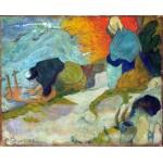 Lavanderas en Arles. Gauguin, Algomasquearte