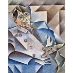 Retrato de Pablo Picasso, Gris, Algomasquearte