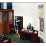 Noche en la oficina, Hopper, Algomasquearte