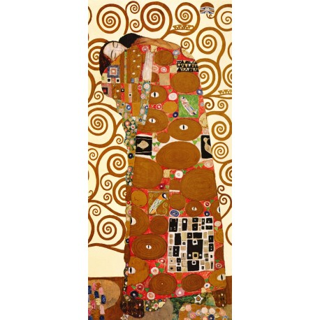 El abrazo, Klimt, Algomasquearte