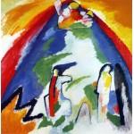 Montaña, Kandinsky, Algomasquearte