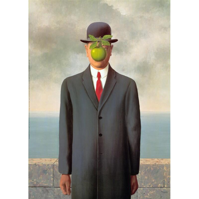 Resultado de imagen de el hijo del hombre magritte