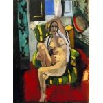 Odalisca con pandereta, Matisse, Algomasquearte