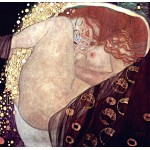 Danae, Klimt, algomasquearte