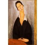 Retrato de una mujer polaca, Modigliani, Algomasquearte