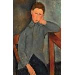 El chico, Modigliani, Algomasquearte