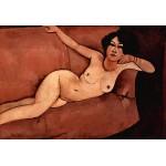 En el sofá, Modigliani, Algomasquearte