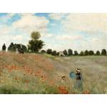 Campo de amapolas, Monet, Algomasquearte