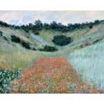 Amapolas en rincón cerca de Giverny, Monet, Algomasquearte