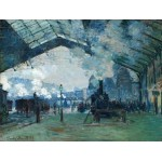 Llegada Tren Normandía, Monet, Algomasquearte
