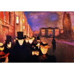 Munch Tarde en Karl Johan Algomasquearte