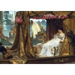 Encuentro Marco Antonio y Cleopatra, alma-tadema, algomasquearte