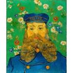 Van Gogh Retrato de Joseph Roulin Algomasquearte