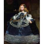 Velazquez Infanta Margarita en azul Algomasquearte