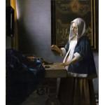 Vermeer Mujer con balanza Algomasquearte