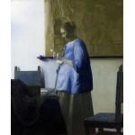 Mujer Leyendo, Vermeer