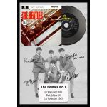 Disco EP The Beatles Nº1 algomasquearte