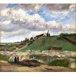 Van Gogh Montmartre Cantera de los Molinos Algomasquearte