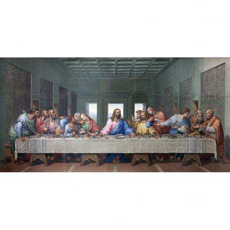 La última Cena, Giacomo Raffaelli, Da Vinci, Algomasquearte