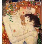 Edades de la Mujer, detalle1, Klimt, algomasquearte