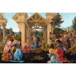 La Adoracion de los Reyes Magos, Botticelli