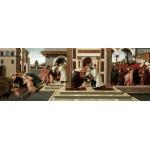El último milagro y muerte de San Cenobio, Botticelli