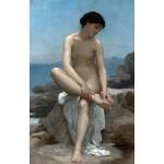 La bañista, Bouguereau, Algomasquearte