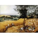 La cosecha, Brueghel, Algomasquearte