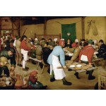La boda campesina, Brueghel, Algomasquearte