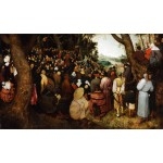 Sermon de Juan Bautista, Brueghel, Algomasquearte