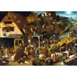 Los proverbios flamencos, Brueghel, Algomasquearte