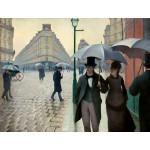 Día lluvioso en una calle de París, Caillebotte, Algomasquearte