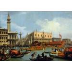 Regreso de Bucentaur, Canaletto, Algomasquearte
