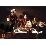 Los discípulos de Emaús, Caravaggio, Algomasquearte