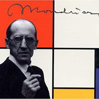 Retrato Mondrian reproducciones cuadros Algomasquearte