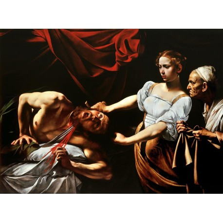 Judit y Holofernes, Caravaggio, Algomasquearte