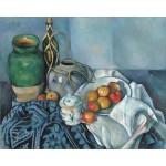 Bodegón con Manzanas, Cezanne, Algomasquearte