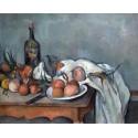 Bodegon con Cebollas, Cezanne