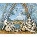 Los grandes bañistas, Cezanne