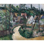Curva en el camino, Cezanne