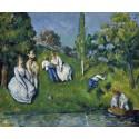 El estanque, Cezanne